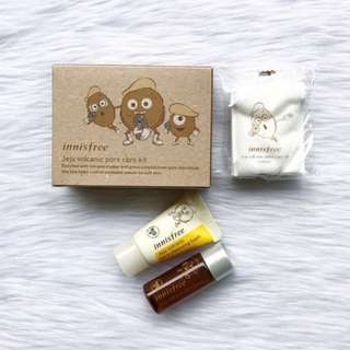Innisfree Jeju Volcanic Pore Clay Kit