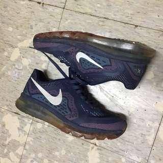 Nike air sneakers pink / navy blue running shoes 運動跑鞋