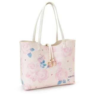 Japan Sanrio Hello Kitty Reversible Tote Bag (Gurley Travel)