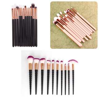 Assorted Make Up Brushes/Make Up Brush Sets