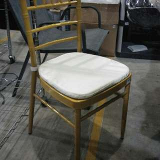 Catering tiffany chair silver/gold