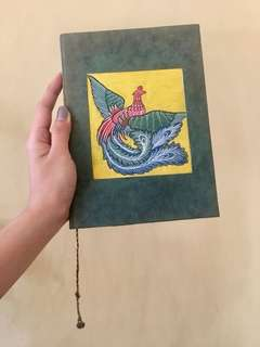 Handcrafted Tibetan notebook
