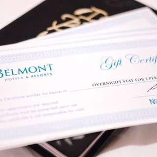 Belmont Hotel GC Worth P6,720