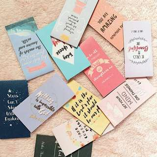 Customized Magnetic Bookmarks (batch 2)