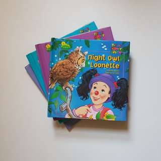 (Vintage) The Big Comfy Couch Children's Books: Set of 4