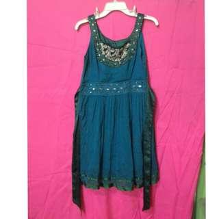 Bluegreen Formal Dress