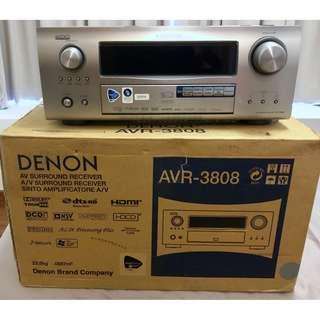 Denon AVR-3808 Receiver