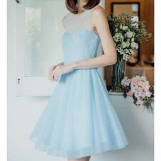 Thread theory one tulle love pleated dress