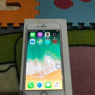 Iphone 6 64 gb gold 99% like new