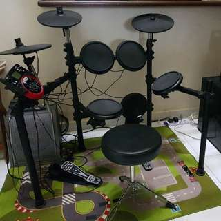 Electric Drum Set Dd512 Muza