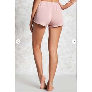 FOREVER 21 LACE-UP SHORT PANTS