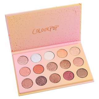 AUTHENTIC COLOURPOP EYESHADOW PALETTE
