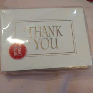 Hallmark thank you card 感謝卡