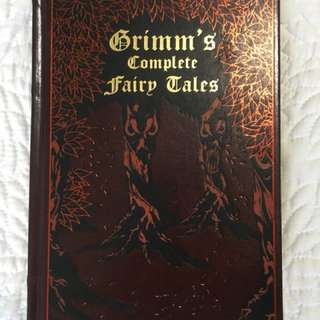 Leather bound Grimm's complete Fairy Tales