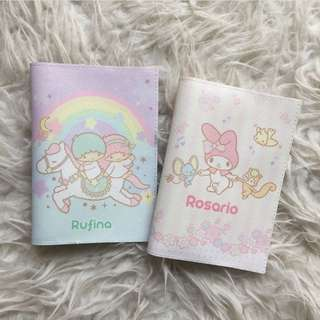 CUSTOM PASSPORT HOLDER my melody little twin stars
