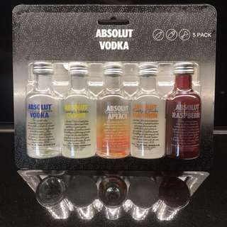 50ml Absolut Vodka gift set 迷你 酒板