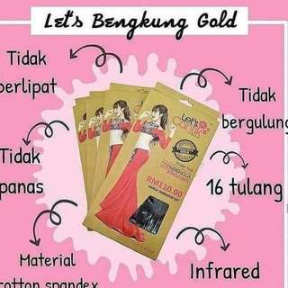 (Instock) Lets Bengkung Gold