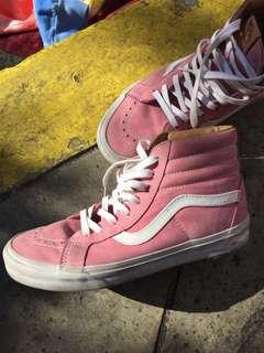 Pink Vans Sk8 Hi OG