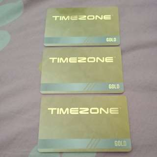 Timezone Arcade Gold Card