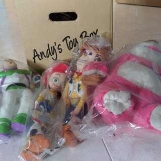 Toy Story Soft Toys (Complete set of 4)