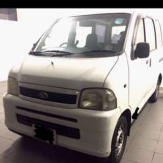 Auto van rental daily rent available