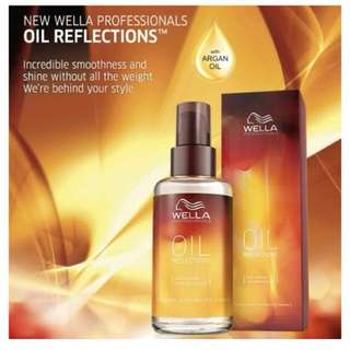 Oil reflection smoothening treatment