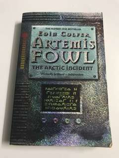 Artemis Fowl book.