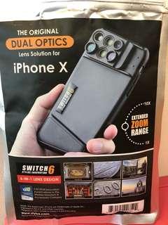iPhone X 6合1 鏡頭保護套