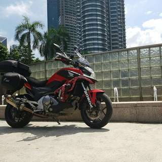 ☆ Exclusive ☆ Touring Ready 2013 Honda NC700X DCT ABS