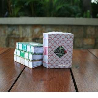 Pink shells mini journal