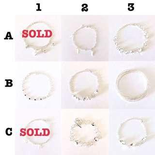 Gold, Bead, Silver Costume Jewellery (bracelets)