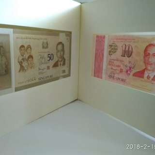 SG 50 Commemorative Note Whole Set With Folder n Box