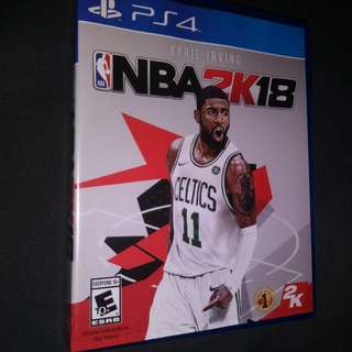 NBA 2K18- region 1 USA orig