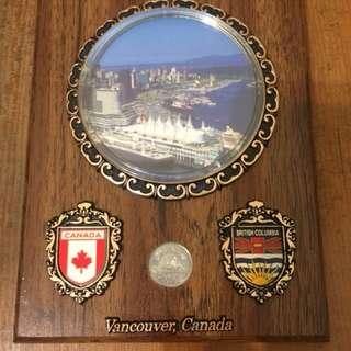 加拿大帶回 紀念品 保存良好