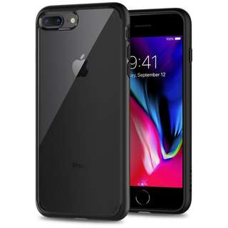 Spigen Ultra Hybrid Case with Air Cusion Technology for iPhone 7 Plus /  iPhone 8 Plus