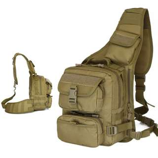 Army Military Tactical Sling Bag Backpack