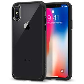 Spigen Ultra Hybrid with Air Cushion Technology Case for iPhone X