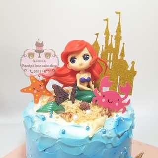 美人魚公主 Disney mousse cake