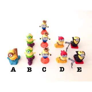 Kids Kinder Surprise Toys / Collectibles (Minions, Hello Kitty, Smurfs)