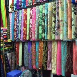 Kain(fabric) + tempahan(tailor)