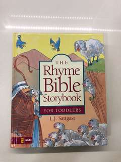 The Rhyme Bible Storybook for Toddlers by L.J. Sattgast