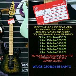 Gitar Cort X11 QM BISA CICILAN TANPA DP