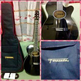 Fernando Acoustic Guitar with EQ and AF-SF Tuner