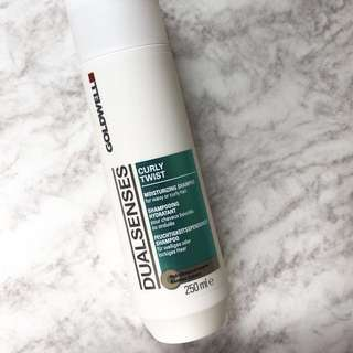 BRAND NEW Goldwell Dual Senses Curly Twist Moisturizing Shampoo (FREE mail)
