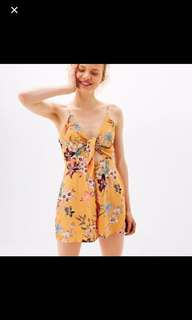 Bershka Playsuit / Romper with Cut-outs in size S