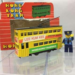 早期第一代香港電車模型
