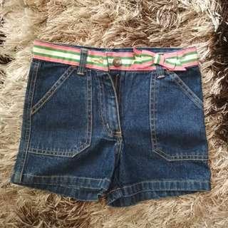 Celana Pendek Jeans Pita