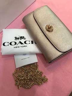 Original coach women wristlets Coin bag wallet sling bag crossbody bag