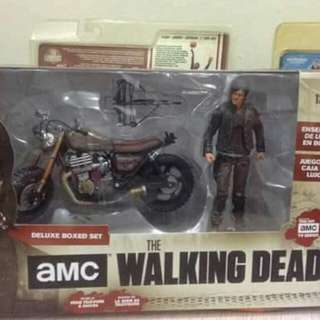 McFarlane The Walking Dead Daryl with Custom Bike