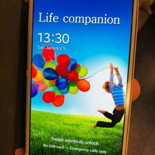 Samsung s4 weth power. Bank new